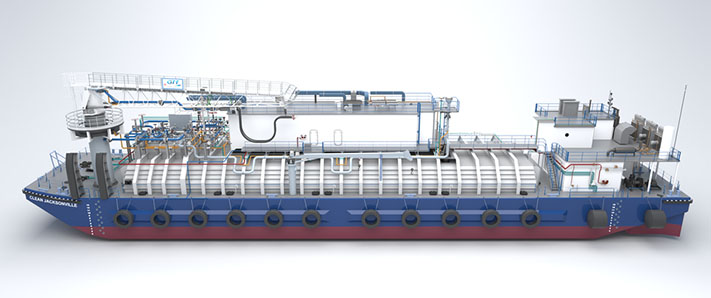 First U S  Flagged LNG Bunker Barge - Foss Maritime Company, LLC